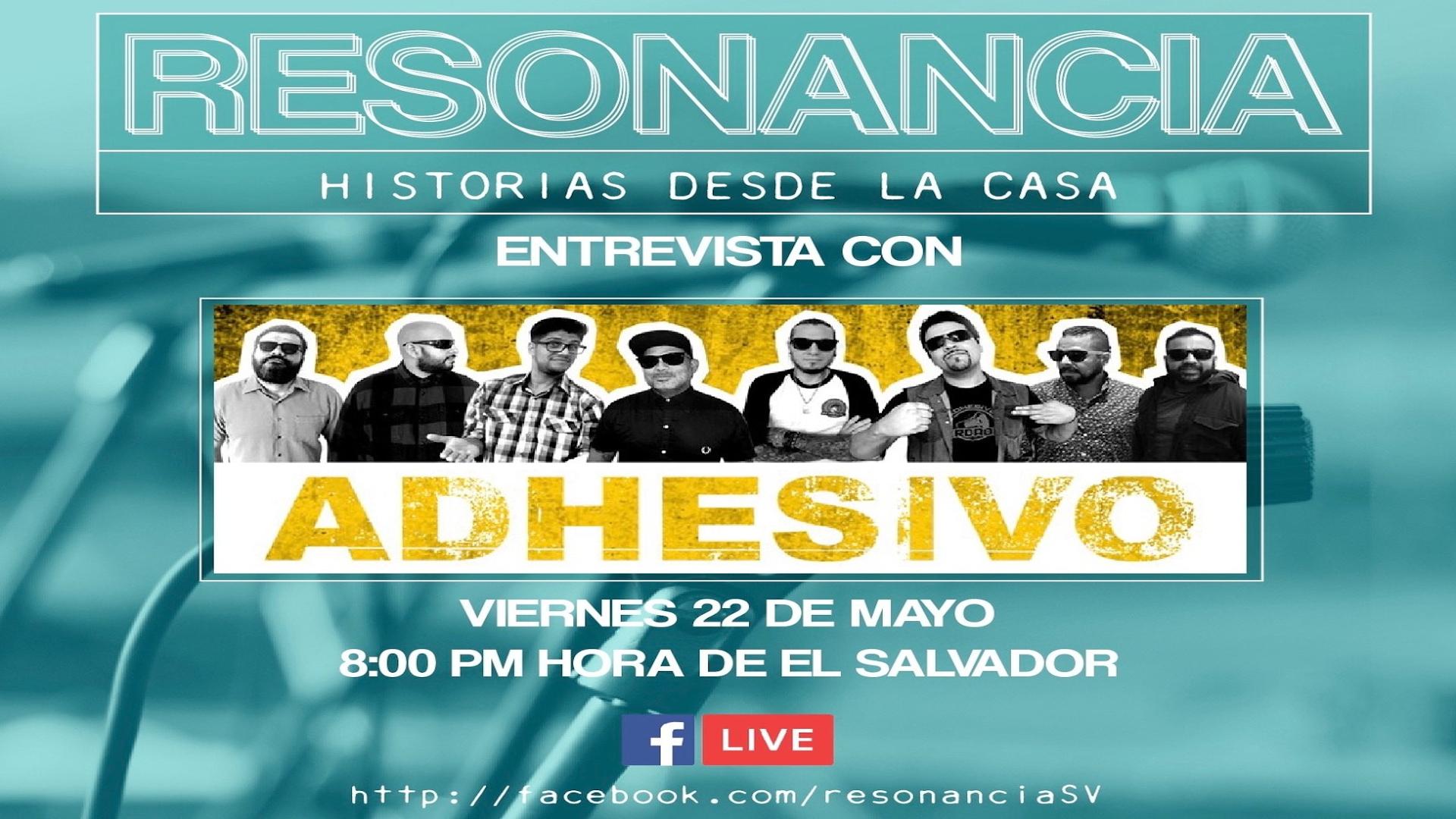 RESONANCIA – HISTORIAS DESDE LA CASA CON ADHESIVO